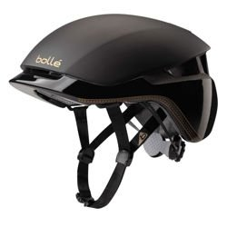 Kask rowerowy Bolle Messenger Premium Black&Gold