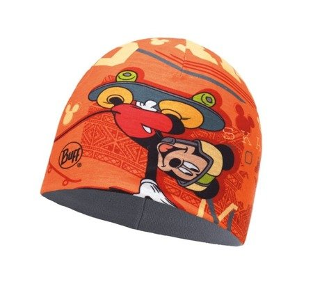 f3789000 Buff Czapka Junior z Microfibry i Polaru Disney Skate King Orange ...