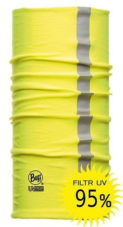 Chusta Dry-Cool Buff Reflective Yellow Fluor