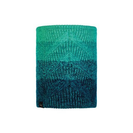 Komin Buff Knitted & Fleece Neckwarmer Valya TURQUOISE