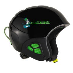Cébé Kask Narciarski Pluma Junior Shiny Black Seal
