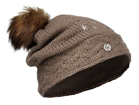 Czapka Buff Junior Knitted & Polar DARSY BROWN