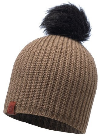 BUFF® Czapka Zimowa Knitted Adalwolf Brown Taupe