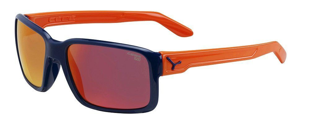 okulary CEBE Dude Shiny Blue Orange 1500 Grey FM Orange Cat.3